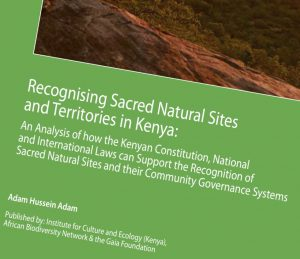 recognisingsacrednaturalsitesinkenya cover